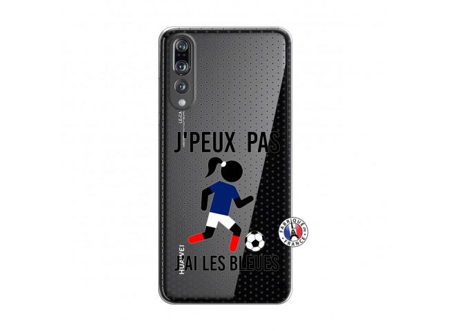 Coque Huawei P20 PRO Je Peux Pas J Ai Les Bleues Maillot