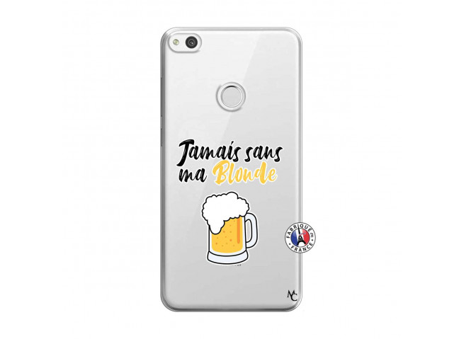 Coque Huawei P9 Lite Jamais Sans Ma Blonde