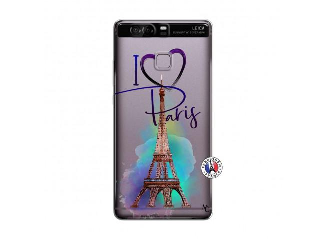 Coque Huawei P9 I Love Paris