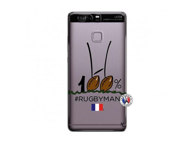 Coque Huawei P9 100 % Rugbyman Entre les Poteaux