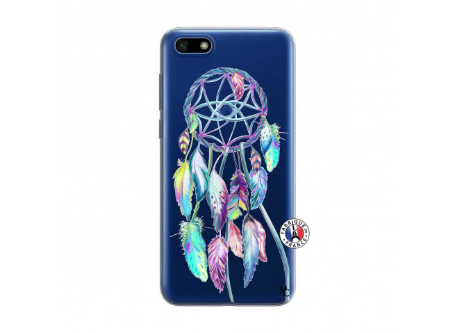 Coque Huawei Y5 2018 Blue Painted Dreamcatcher