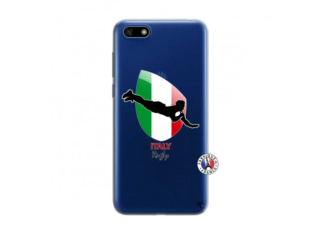 Coque Huawei Y5 2018 Coupe du Monde Rugby-Italy