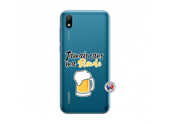 Coque Huawei Y5 2019 Jamais Sans Ma Blonde