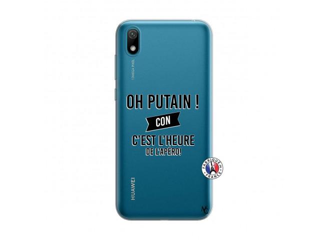 Coque Huawei Y5 2019 Oh Putain C Est L Heure De L Apero