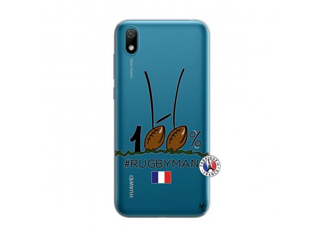 Coque Huawei Y5 2019 100 % Rugbyman Entre les Poteaux