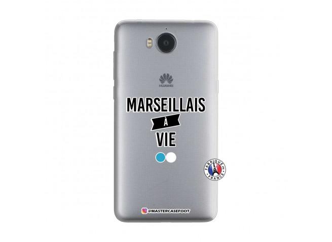 Coque Huawei Y6 2017 Marseillais à Vie