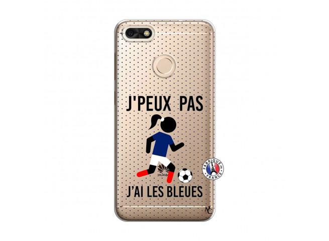 Coque Huawei Y6 2018 Je Peux Pas J Ai Les Bleues Maillot