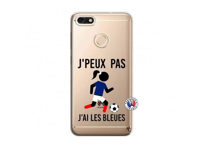 Coque Huawei Y6 2018 Je Peux Pas J Ai Les Bleues