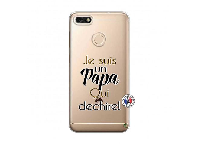 Coque Huawei Y6 2018 Je Suis Un Papa Qui Dechire