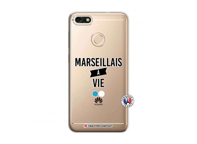 Coque Huawei Y6 2018 Marseillais à Vie