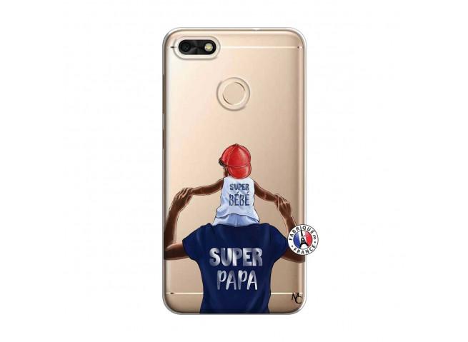 Coque Huawei Y6 2018 Papa Super Heros