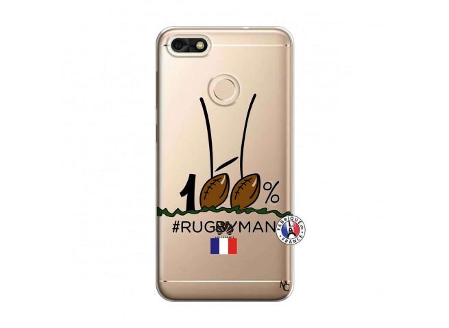 Coque Huawei Y6 2018 100 % Rugbyman Entre les Poteaux