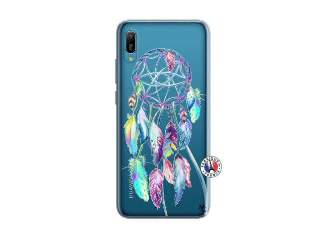 Coque Huawei Y6 2019 Blue Painted Dreamcatcher