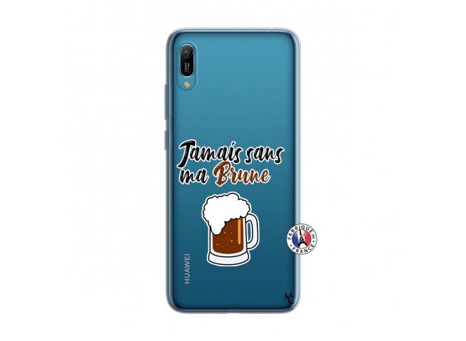 Coque Huawei Y6 2019 Jamais Sans Ma Brune
