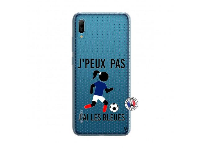 Coque Huawei Y6 2019 Je Peux Pas J Ai Les Bleues Maillot