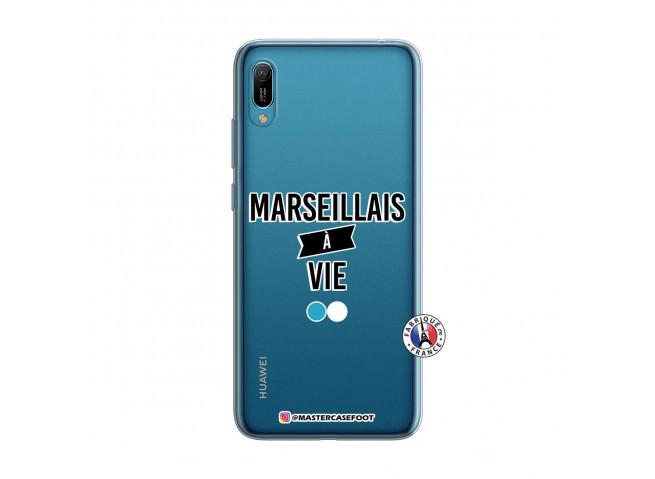 Coque Huawei Y6 2019 Marseillais à Vie