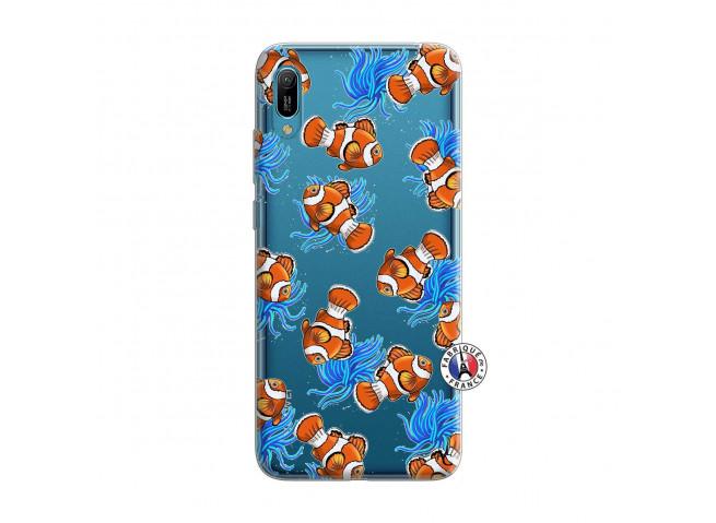Coque Huawei Y6 2019 Poisson Clown