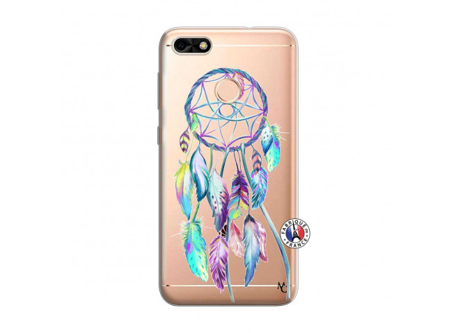 Coque Huawei Y6 PRO 2017 Blue Painted Dreamcatcher