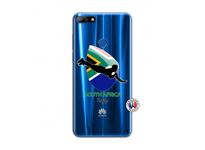 Coque Huawei Y7 2018 Coupe du Monde Rugby-South Africa