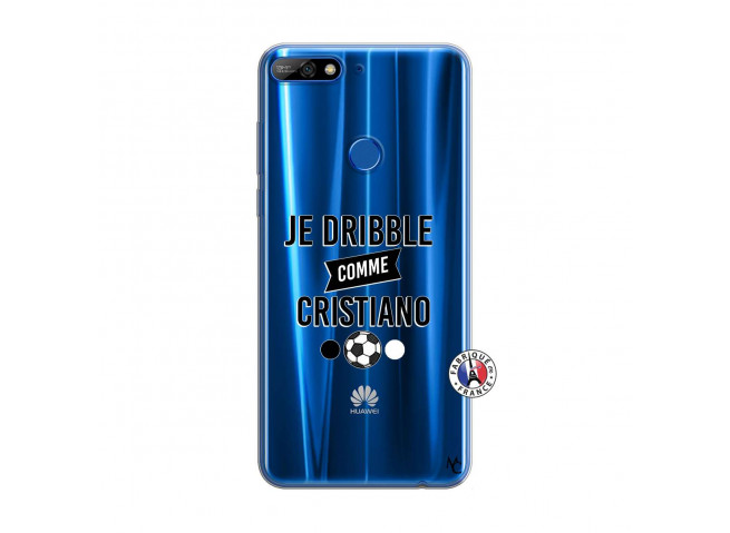 Coque Huawei Y7 2018 Je Dribble Comme Cristiano
