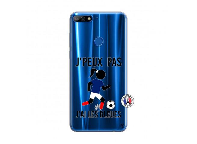 Coque Huawei Y7 2018 Je Peux Pas J Ai Les Bleues