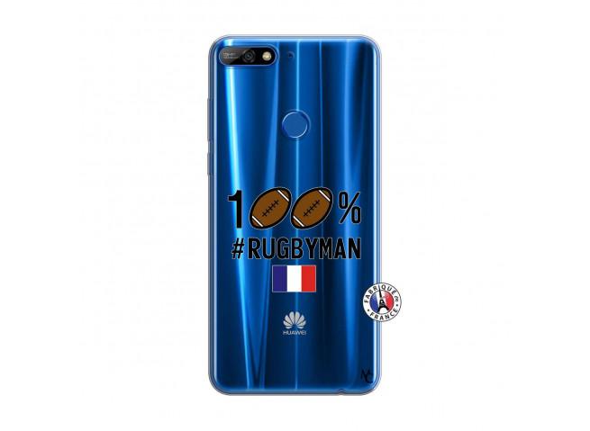 Coque Huawei Y7 2018 100% Rugbyman