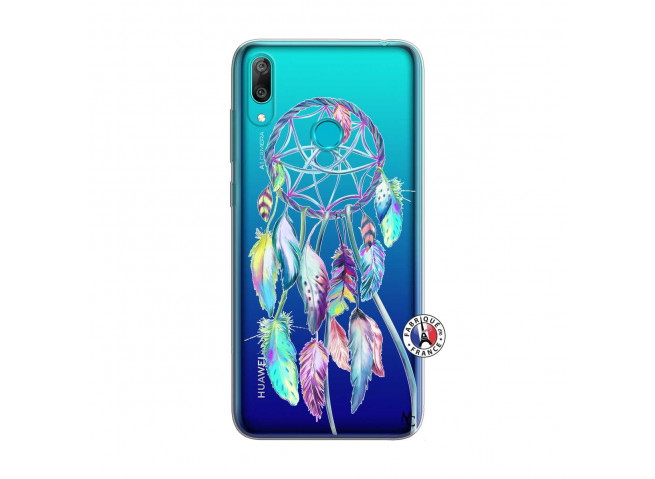 Coque Huawei Y7 2019 Blue Painted Dreamcatcher