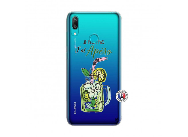 Coque Huawei Y7 2019 Je peux pas J'ai Apéro