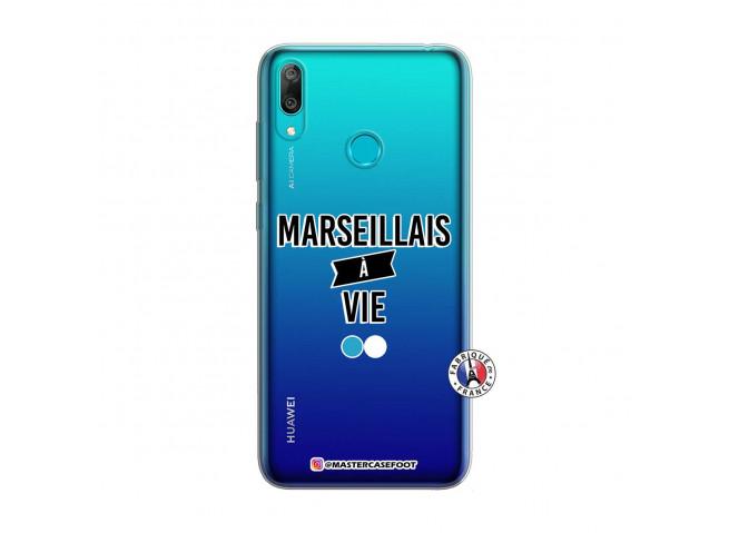 Coque Huawei Y7 2019 Marseillais à Vie