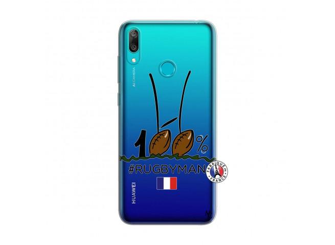 Coque Huawei Y7 2019 100 % Rugbyman Entre les Poteaux