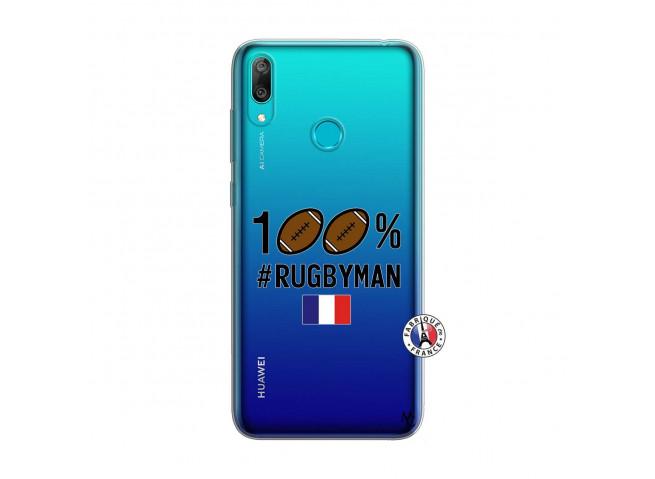 Coque Huawei Y7 2019 100% Rugbyman