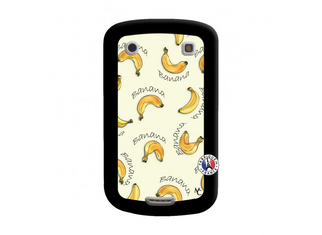 Coque Blackberry Bold 9900 Sorbet Banana Split Noir