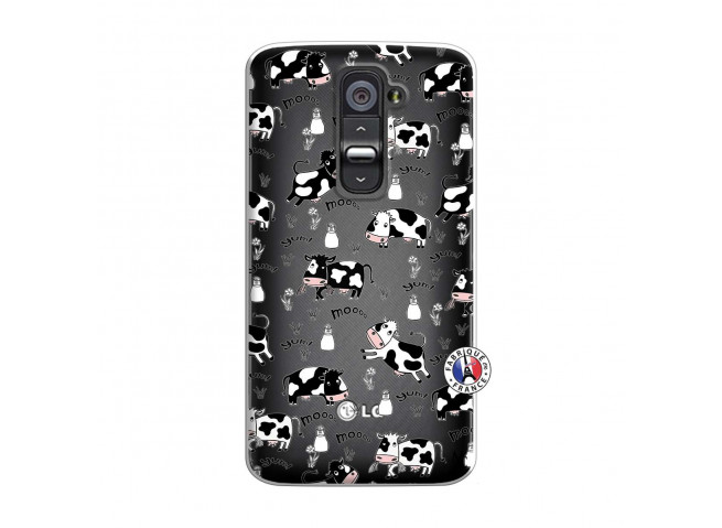 Coque Lg G2 Cow Pattern