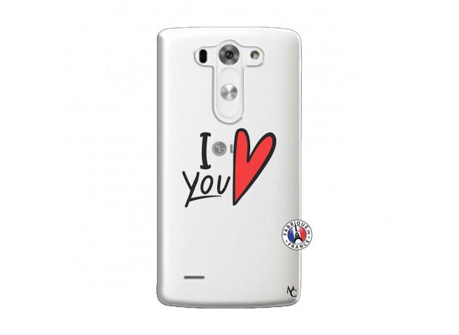 Coque Lg G3 I Love You