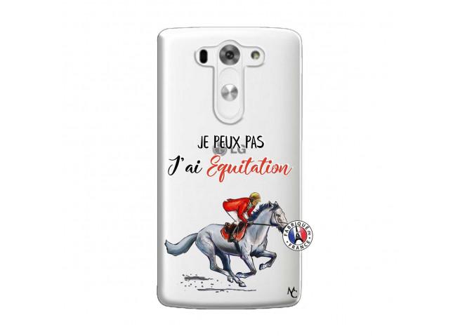 Coque Lg G3 Je Peux Pas J Ai Equitation