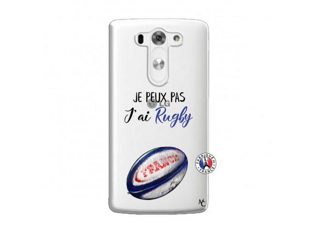 Coque Lg G3 Je Peux Pas J Ai Rugby
