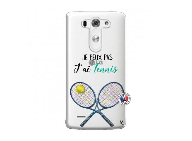Coque Lg G3 Je Peux Pas J Ai Tennis