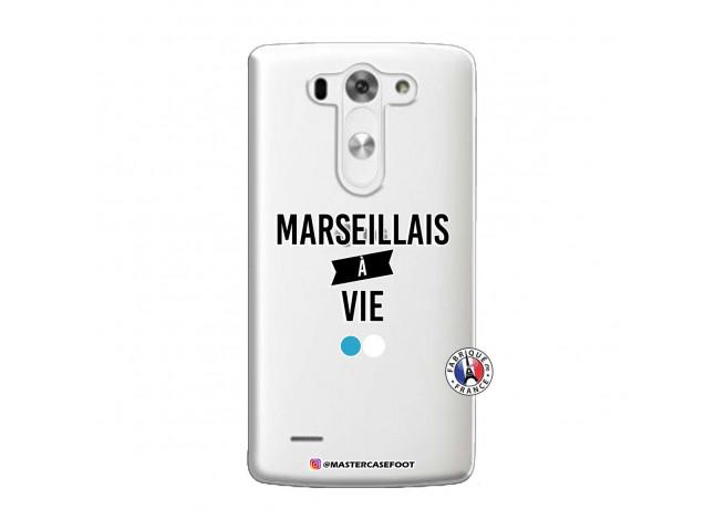 Coque Lg G3 Marseillais à Vie