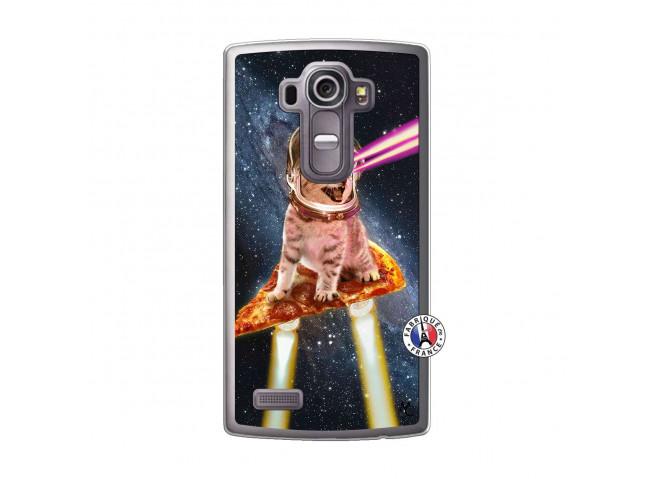 Coque Lg G4 Cat Pizza Translu