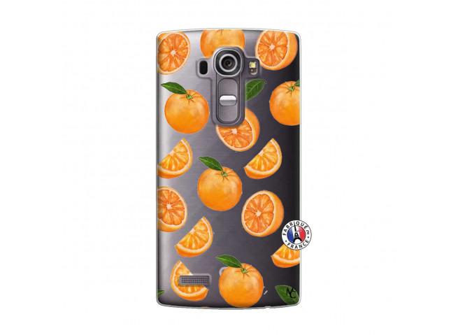 Coque Lg G4 Orange Gina