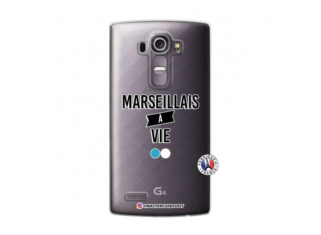 Coque Lg G4 Marseillais à Vie