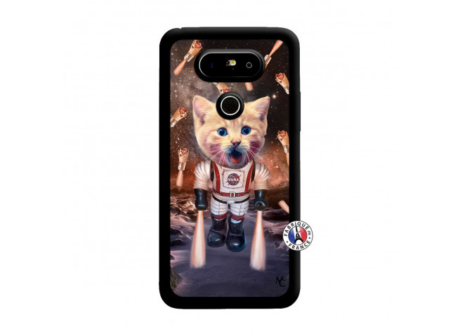 Coque Lg G5 Cat Nasa Noir