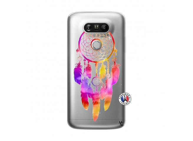Coque Lg G5 Dreamcatcher Rainbow Feathers