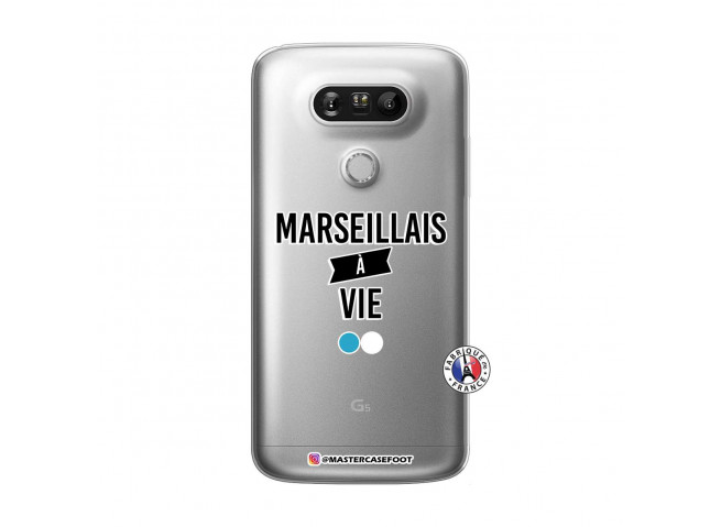 Coque Lg G5 Marseillais à Vie