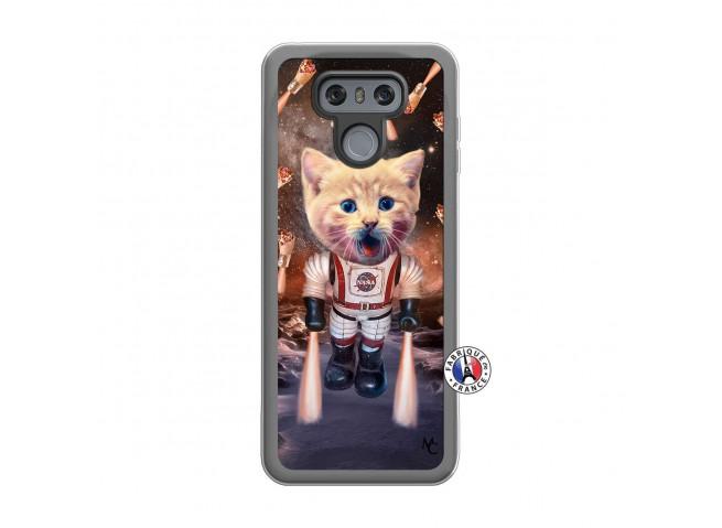 Coque Lg G6 Cat Nasa Translu