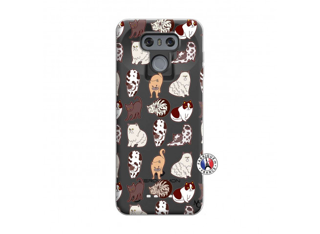 Coque Lg G6 Cat Pattern