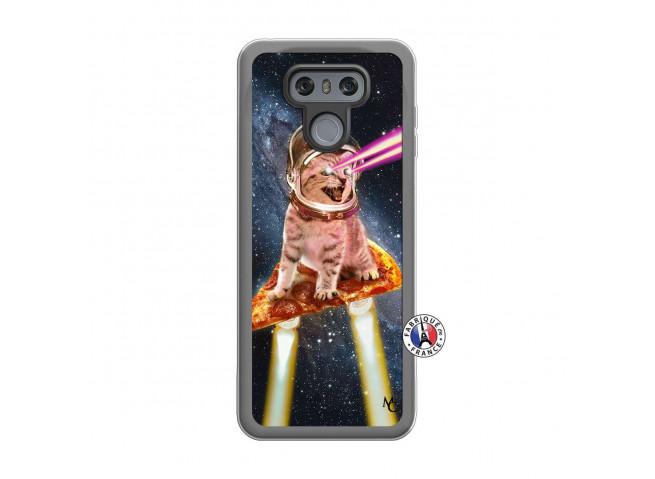 Coque Lg G6 Cat Pizza Translu