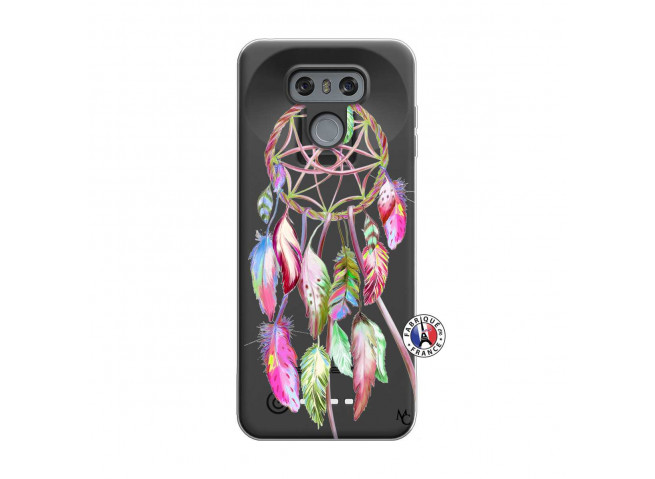 Coque Lg G6 Pink Painted Dreamcatcher
