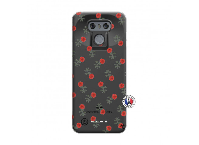 Coque Lg G6 Rose Pattern