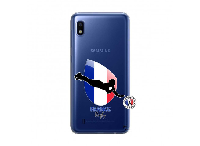 Coque Samsung Galaxy A10 Coupe du Monde de Rugby-France
